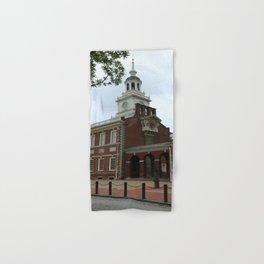 Philadelphia - Independence Hall Hand & Bath Towel