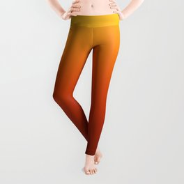 Autumn Colors Gradient Leggings
