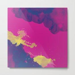 Abstract Fusia - WaterCOOLER Metal Print
