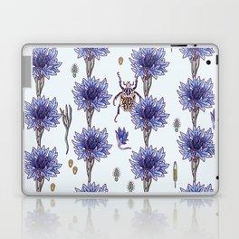 blue cornflower fields Laptop & iPad Skin