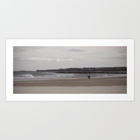 beached... Art Print