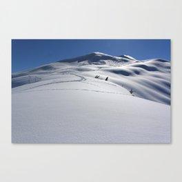 Approaching Tincan Peak Canvas Print
