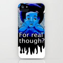 Cherubic Lament iPhone Case