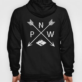 Pacific North West, Seattle Washington Hoody