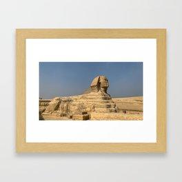 Egypt - Great Sphinx of Giza Framed Art Print