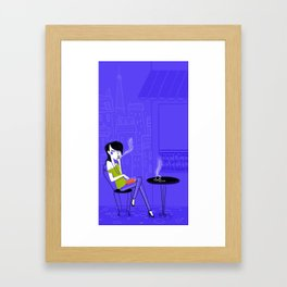 Violette Framed Art Print