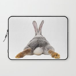 Cute Bunny Rabbit Tail Butt Image Easter Animal Laptop Sleeve