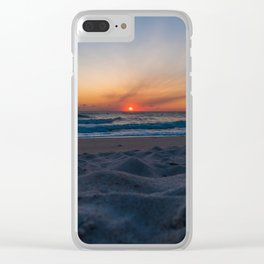 Cape Canaveral Sunrise Clear iPhone Case