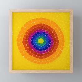 Classical African-American Masterpiece 'Resurrection' by Alma Thomas Framed Mini Art Print