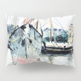 Boats, Entry of the Midina to the Isle of Wight - Digital Remastered Edition Pillow Sham