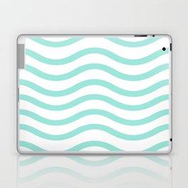 Mint Waves Laptop & iPad Skin