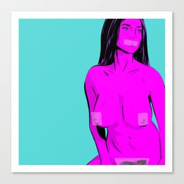 CENSORED #2 Canvas Print