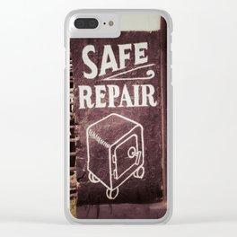 Safe Repair Clear iPhone Case