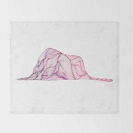 Ceci n'est pas un chapeau Throw Blanket