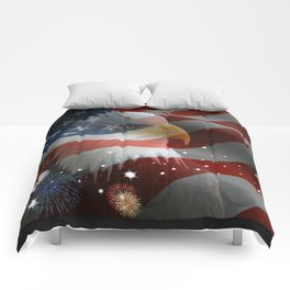 Patriotic America Comforters