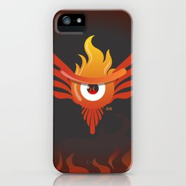 f.eye.nix iPhone Case