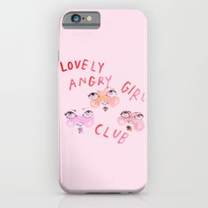 Lovely angry girl club iPhone 6 Slim Case