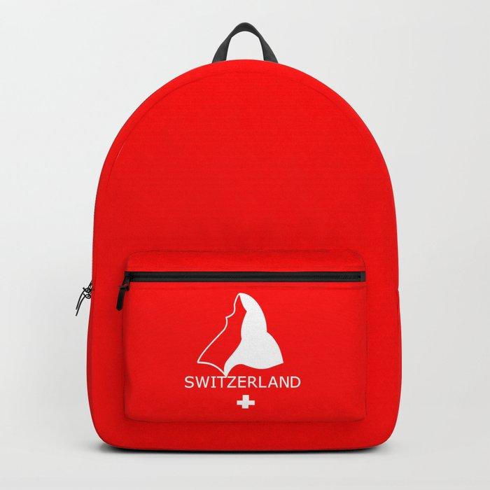 Switzerland and Matterhorn Backpack