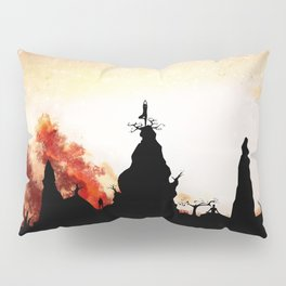Obsidian Flames Pillow Sham