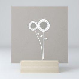 Simply Folk - Sunflowers Mini Art Print