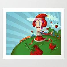PepperLand Art Print