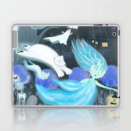 Spooky Lora Laptop & iPad Skin