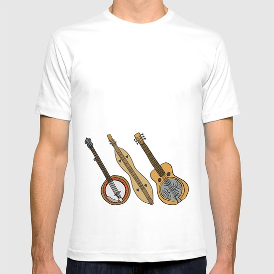 Banjo, Dulcimer, Resonator T-shirt