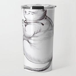 FatCat maneki neko Travel Mug