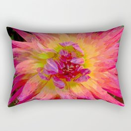 "Extreme Dahlia ""Hollyhill Margarita"" Rectangular Pillow"