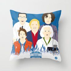 1985 (Faces & Movies) Throw Pillow