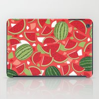 watermelon iPad Cases featuring Watermelon by Ornaart