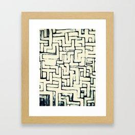 Laberinto I Framed Art Print