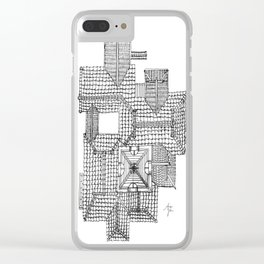 Taiwanese roofscapes 01 Clear iPhone Case