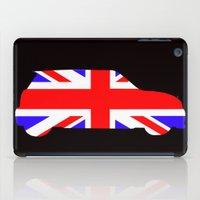 mini cooper iPad Cases featuring Mini Cooper by Derek Donovan