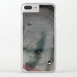 "Rostislav Eismont Ceramic Plate ""After Voulkos"" ca 1974 Clear iPhone Case"