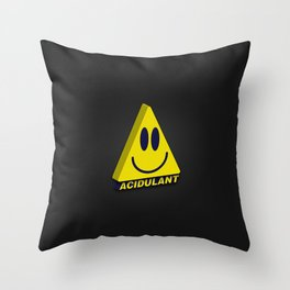 Acidulant! Throw Pillow