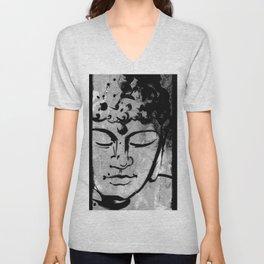 Buddha Love No.53c by Kathy Morton Stanion Unisex V-Neck
