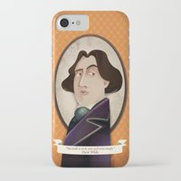 oscar wilde iPhone & iPod Cases featuring Oscar Wilde said... by Mrs Peggotty