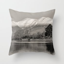 Derwentwater - Lake District Throw Pillow