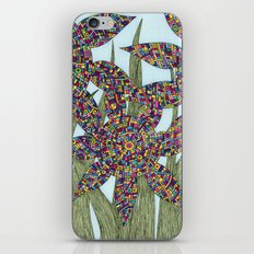 Among the Flowers iPhone & iPod Skin