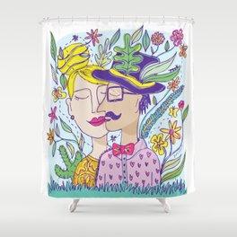 Spring Love Shower Curtain