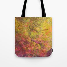 NEON MOUNTAINS / PATTERN SERIES 006 Tote Bag