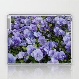 Pansy flower Laptop & iPad Skin