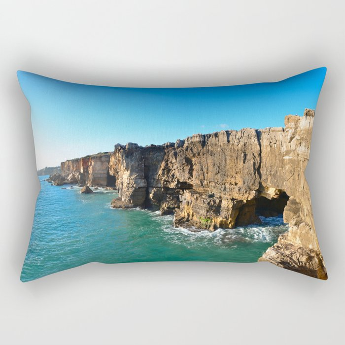 Cascais Rocks Rectangular Pillow