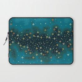 Blue Rift Galaxy (8bit) Laptop Sleeve