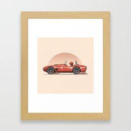 AC Cobra Framed Art Print