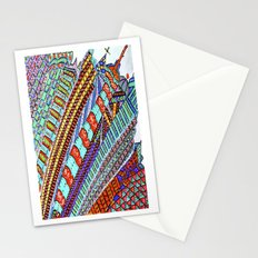 Between Moon & City Stationery Cards