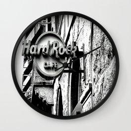 Hard-Rock-Cafe Wall Clock