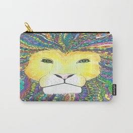 Lovely Lion Carry-All Pouch