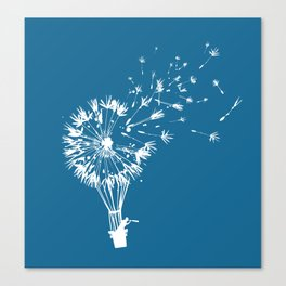 Going where the wind blows Canvas Print